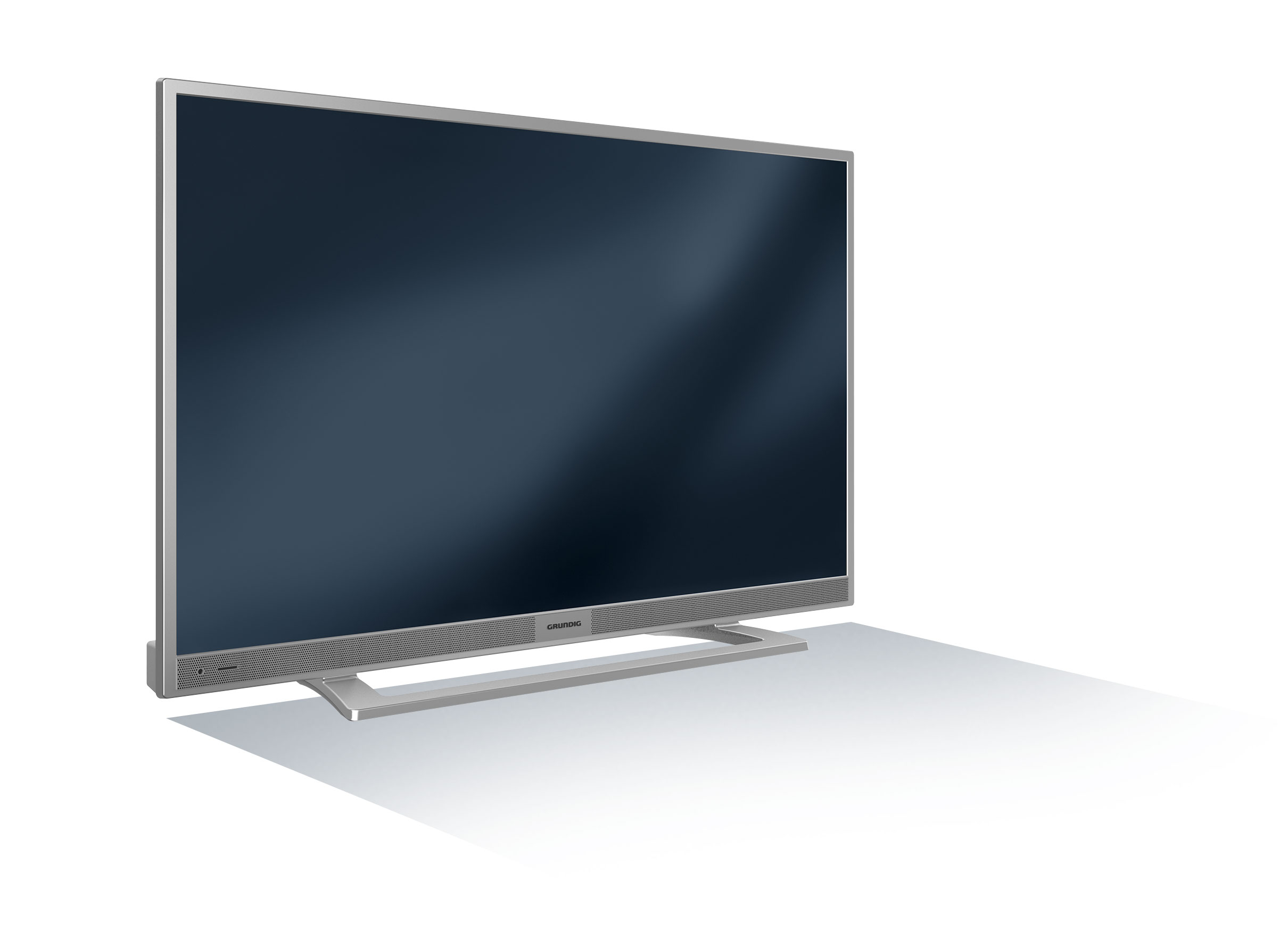 grundig led tv 22 vle 5520 sg silber 22 zoll 55 cm fernseher ebay. Black Bedroom Furniture Sets. Home Design Ideas