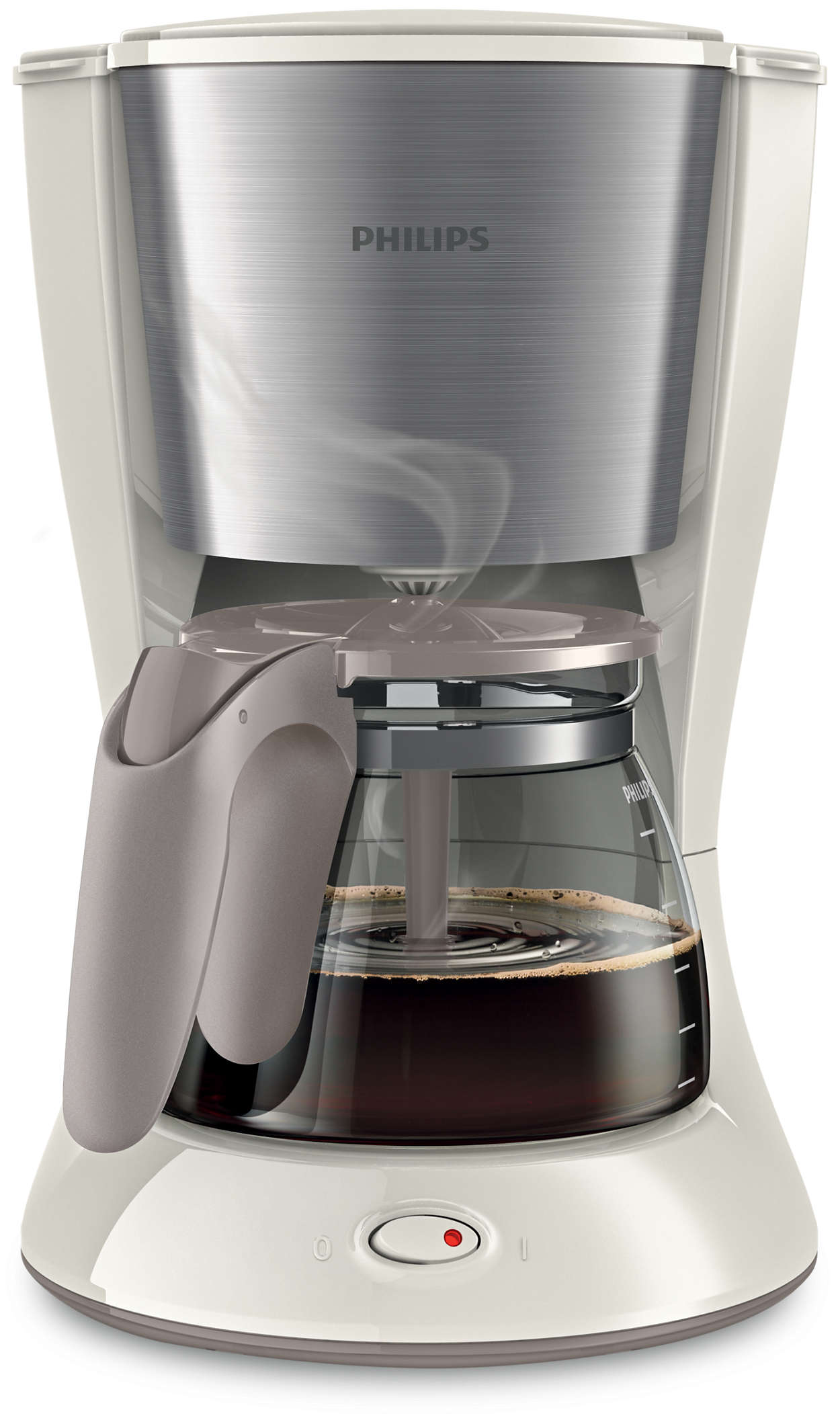 philips hd7462 01 kaffeemaschine wei metall 1 2 l aroma twister ebay. Black Bedroom Furniture Sets. Home Design Ideas