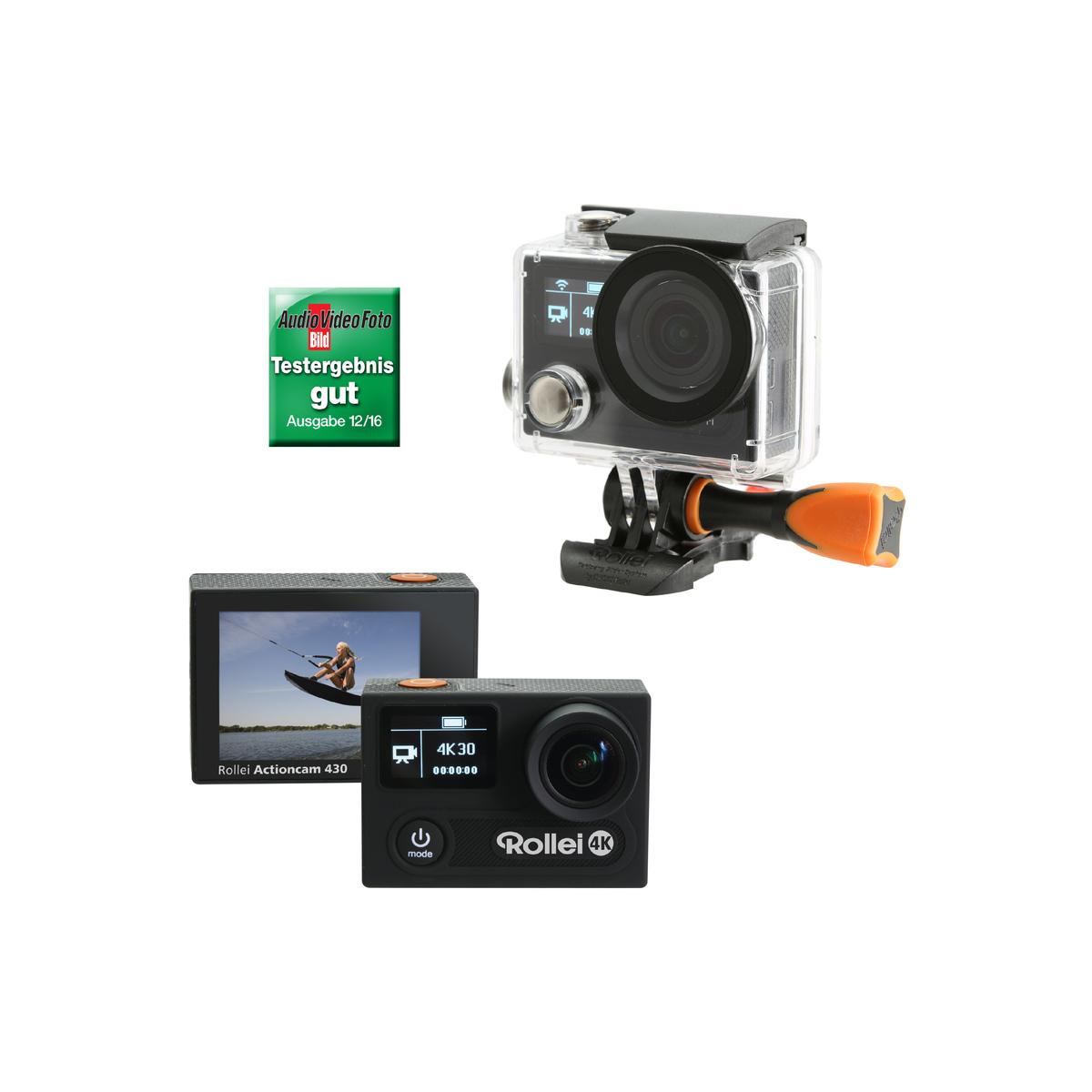 rollei actioncam 430 4k action kamera 170 wifi. Black Bedroom Furniture Sets. Home Design Ideas