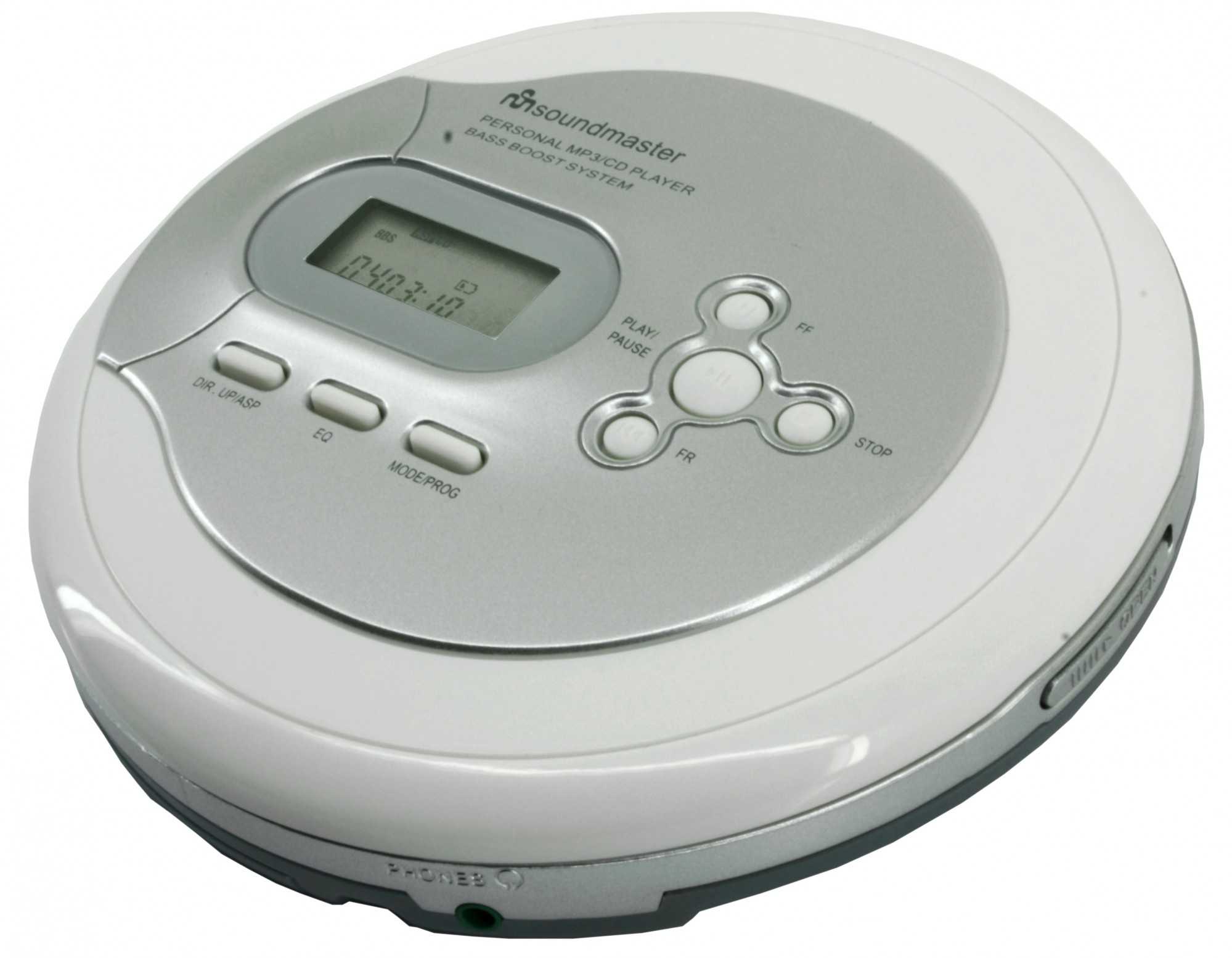soundmaster cd9180 cd mp3 player with esp battery charger With cd player with resume function