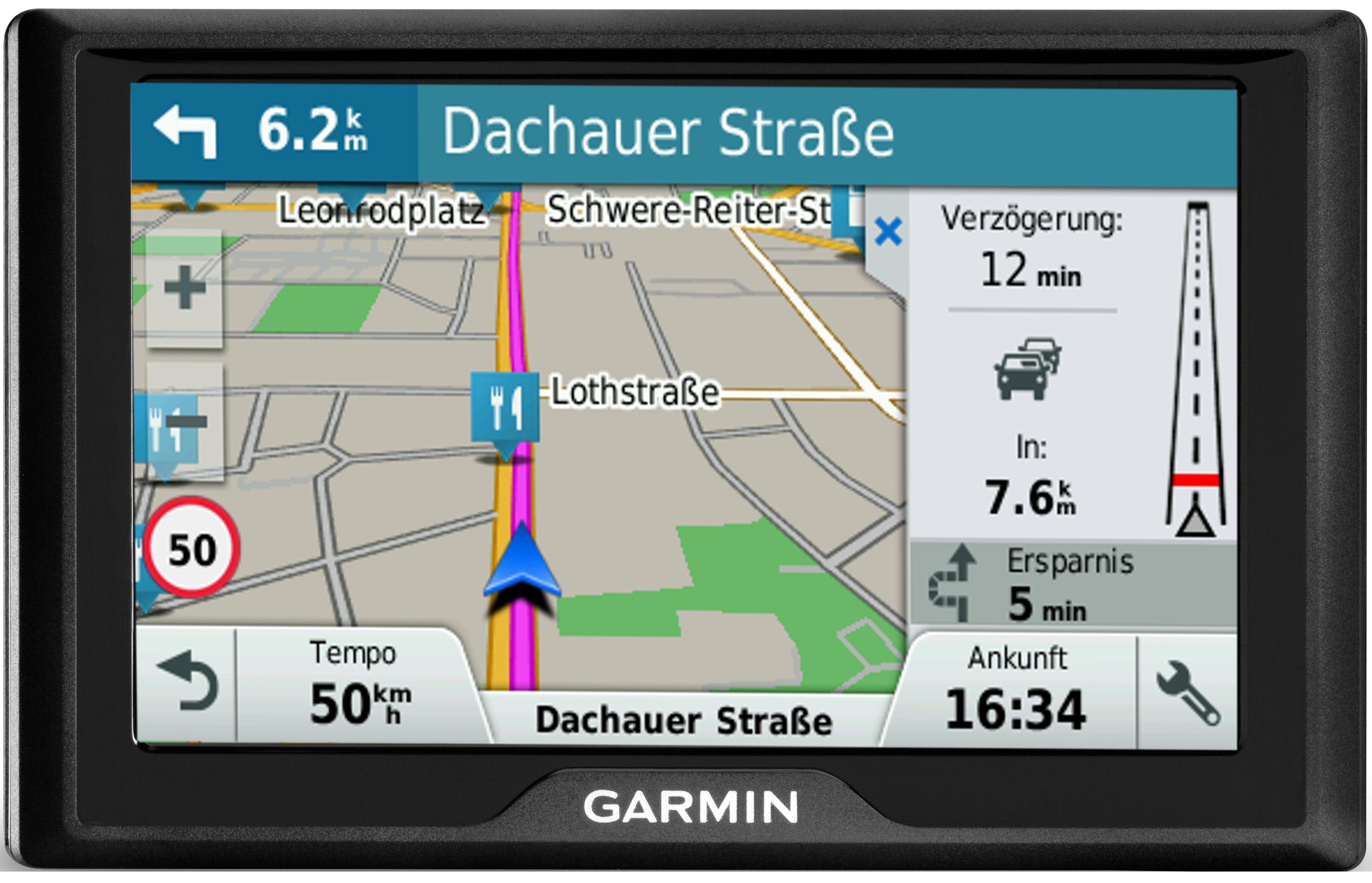 garmin drive 50lmt ce navi gps navigationsger t mitteleuropa 5 display ebay. Black Bedroom Furniture Sets. Home Design Ideas