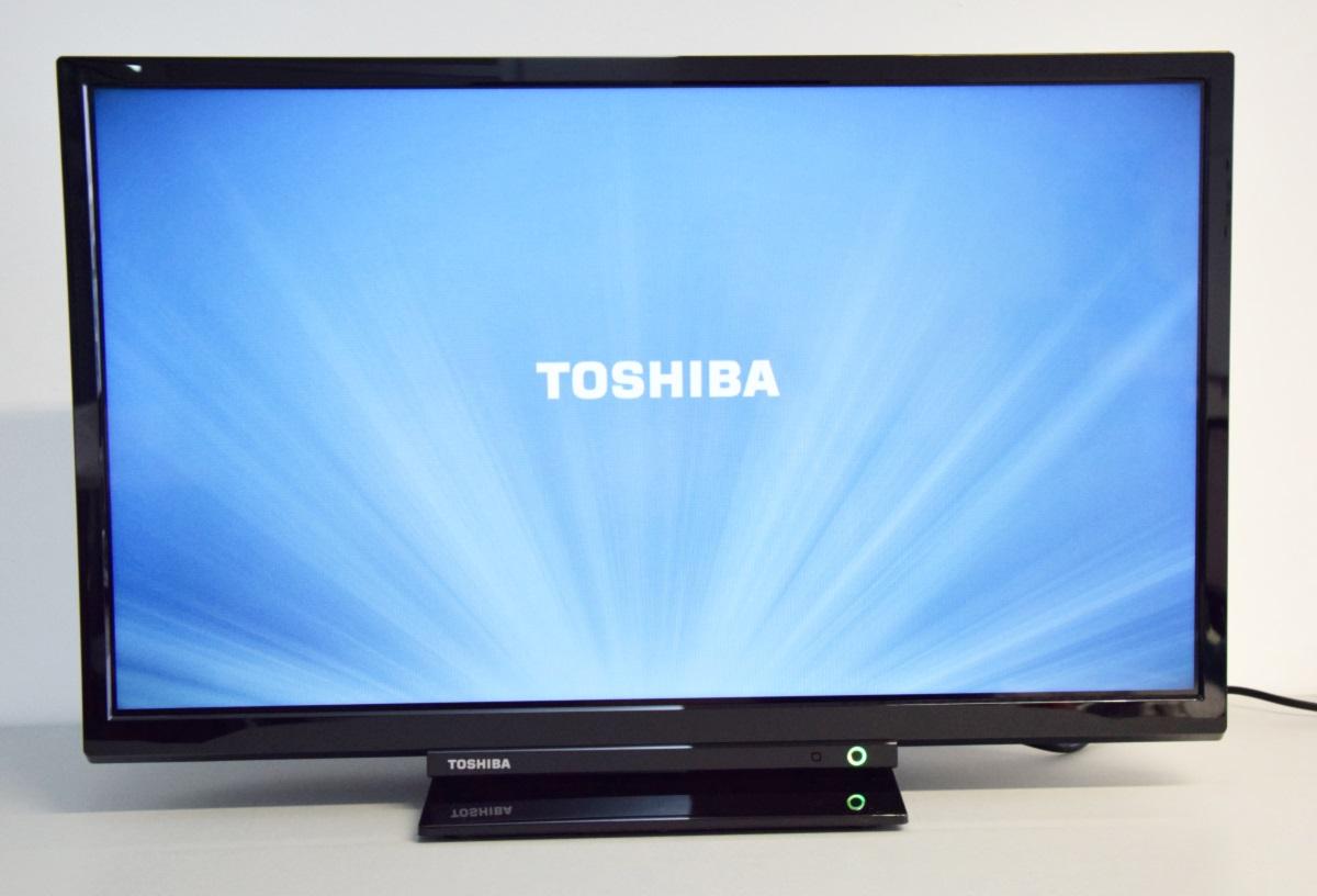 toshiba 24d1763da led tv 24 61cm hd ready dvd player dvb t2 c s2 schwarz ebay. Black Bedroom Furniture Sets. Home Design Ideas